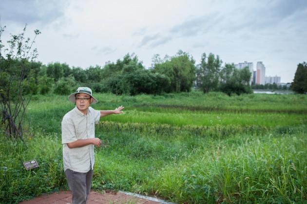 수원청개구리 - (주)동아사이언스 제공